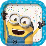 Despicable Me Minion Made 9 inch Plates