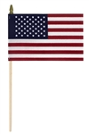 4in.X6in. Us Flag 4Ct Packaged