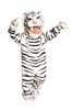 White Tiger 4T-6T Months Kids Costume