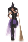 Black Magic Witch Small Adult Costume
