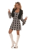 Hip Chick Adult Costume - Medium