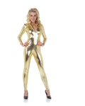 Gold Jumpsuit Adult Small