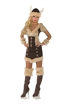 Viking Queen Adult Costume - Small