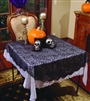 Spider Lace Round Tablecloth