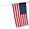 2' X 4' Sleeved U.S. Flag Koralex