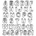 Alphabet And Number Cut Outs
