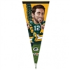 Green Bay Packers Aaron Rodgers Caricature Premium Pennant
