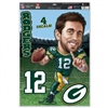 Green Bay Packers Aaron Rodgers Caricature Decals