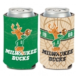 Milwaukee Bucks Retro/Hardwoods Can Cooler