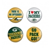 Green Bay Packers Buttons
