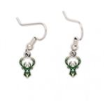 Milwaukee Bucks Dangling Earrings