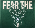 Milwaukee Bucks Fear the Deer Rally Towel