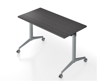 "ATTIVO FLIP TOP NESTING TABLE 30"" x 60"""