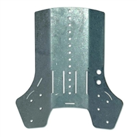 Poseidon Steel Backplate
