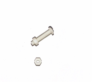 Broco Nylon Screws & Nuts (Four Each)
