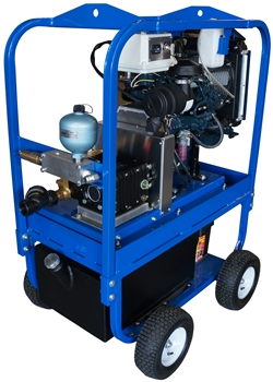Cavidyne CaviBlaster 1625-D Steel Cart Diesel Powered Cavitation Cleaning System