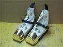 U.S. Navy Heavy Weight Diving Shoes w/ White Canvas Uppers