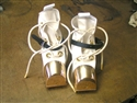 DESCO U.S. Navy Light Weight Diving Shoes w/ White Canvas Uppers