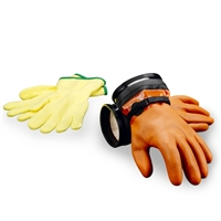 DUI Maximum Dexterity Orange ZipGloves with Liners