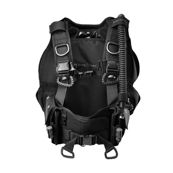 Aqua Lung BC-1 Black Military Buoyancy Compensator W/ Hook & Loop