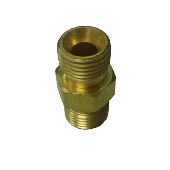 314B Brass Adaptor O2B Male And O2B Male