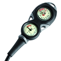 Mares Mission 2 Console - Pressure Gauge & Depth Gauge