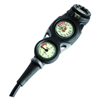 Mares Mission 3 Console - Pressure Gauge, Depth Gauge & Compass