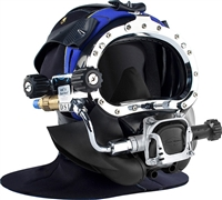 Kirby Morgan KMB Bandmask 28B Full Face Diving Mask W/ 455 Balanced Regulator
