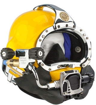 Kirby Morgan SuperLite SL 27 Diving Helmet W/ 455 Balanced Regulator