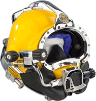 Kirby Morgan KM 37 Diving Helmet W/ 455 Balanced Regulator