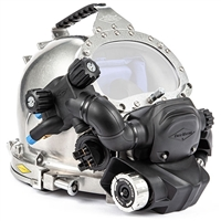 Kirby Morgan KM Diamond Stainless Steel Diving Helmet