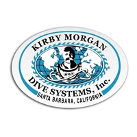 Kirby Morgan KMDSI Large Oval Sticker