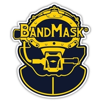 Kirby Morgan Bandmask Die Cut Sticker