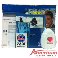 PADI Rescue Diver Crew Pack With Pocket Mask