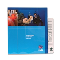 PADI Adventures In Diving - Manual & Multi-Purpose Data Carrier