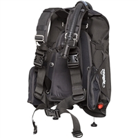 Zeagle Express Tech Deluxe BCD Travel Buoyancy Compensator, Black