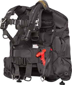 Zeagle Ranger Junior Buoyancy Compensator, Black