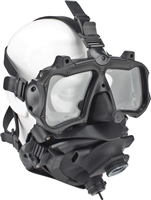 Kirby Morgan M-48 Mod-1 Full Face Diving Mask With Pod, Without Regulator