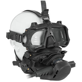 Kirby Morgan M-48 Mod-1  Full Face Diving Mask With Pod, With Regulator