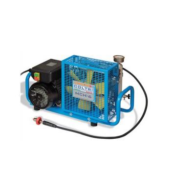 nuvair mch6 3e coltri single phase electric portable high pressure air compressor