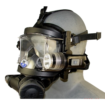 Accessory Rail Light System for OTS Guardian Full Face Mask
