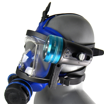 Accessory Rail Light System W/ SOLA 1200 for OTS Guardian Full Face Mask
