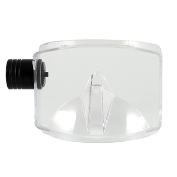 Interspiro Divator AGA Visor With Hatch ABV (Ambient Breathing Valve)