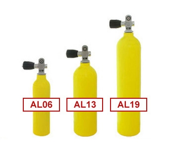 Yellow Pony Bottle Aluminum Tank