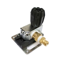Apeks Switch Block Non Return Valve and (4) Adapters