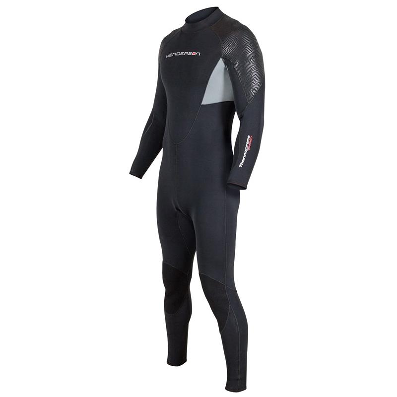 3mm Men/'s Henderson Thermoprene Pro Vest Black Front Zip