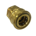 "Parker Hannifin Snap-Tite BPHC-8 Quick Disconnect Female Hot Water 1/2"" Brass Fitting"