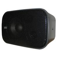 "Poly-Planar Compact Box Speaker - 7-1/2"" x 4-15/16"" x 4-15/16"" - (Pair) Black [MA800B]"