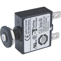 Blue Sea 7061 40A Push Button Thermal with Quick Connect Terminals [7061]