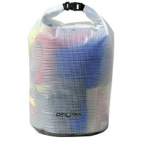 "Dry Pak Roll Top Dry Gear Bag - 11-1/2"" x 19"" - Clear [WB-6]"